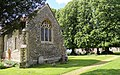 Church of St Andrew, Willingale, Essex, England - exterior chancel from southeast.JPG