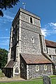 Church of St Mary the Virgin, Eastry, Kent - tower at southwest.jpg