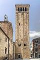 Church tower of San Giacomo dall'Orio (Venice).jpg