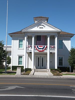 Churchill County Courthouse in Fallon
