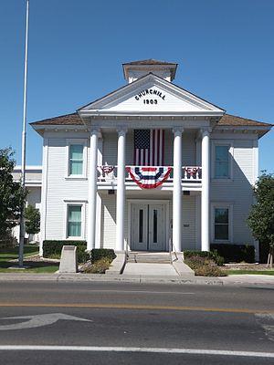 Churchill County, Nevada - Image: Churchill Court House 2