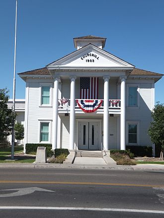 Churchill County, Nevada - Image: Churchill Court House 2