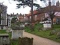 Churchyard, St Mary's Church, Woodbridge - geograph.org.uk - 1183220.jpg