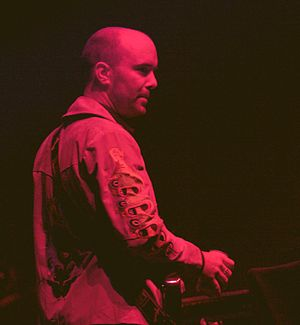 Rings Around the World - Keyboardist Cian Ciaran contributed two tracks to Rings Around the World and collaborated with other members of the band on several more.
