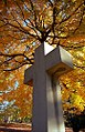 "Cincinnati - Spring Grove Cemetery & Arboretum ""Cross Inside Autumn Halo"" (5133497699).jpg"
