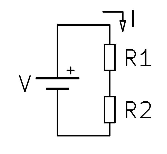Circuito Electrico En Serie : File circuito electrico serie wikimedia commons