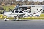 Cirrus Sunshine Coast (VH-ZPZ) Cirrus SR20 G6 at Wagga Wagga Airport.jpg