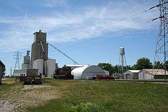 Cisco, Illinois - Cisco grain elevator and water tower