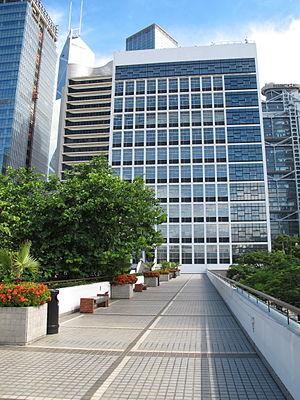 Hong Kong City Hall - City Hall High Block north façade