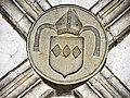 Clé de voûte armoriée de la salle capitulaire.jpg
