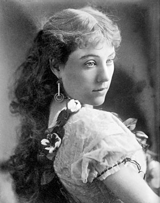 Clara Morris - In the title role in Camille, 1874