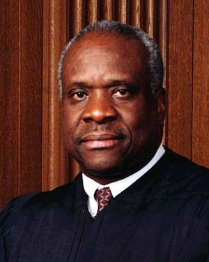 Official portrait of Supreme Court Justice Cla...