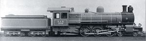 South African type XC tender - Type XC tender on CSAR Class 10-C