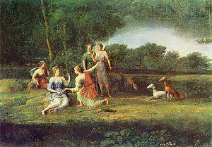 Egeria (mythology) - Egeria mourns Numa (1669) by Claude Lorrain