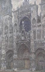 La Cathédrale de Rouen, le Portail, Temps gris