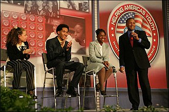 Claude Allen - Claude Allen, October 27, 2005, at Howard University during a White House Conference on Helping America's Youth.