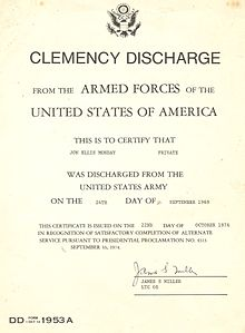 Military discharge - Wikipedia