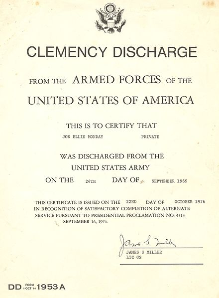 Military discharge - Wikiwand