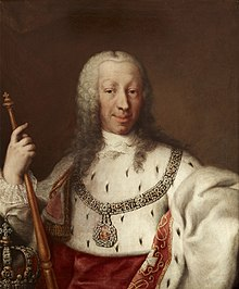Charles Emmanuel III of Sardinia Clementi and Studio - Charles Emmanuel III of Sardinia in Royal Mantle.jpg