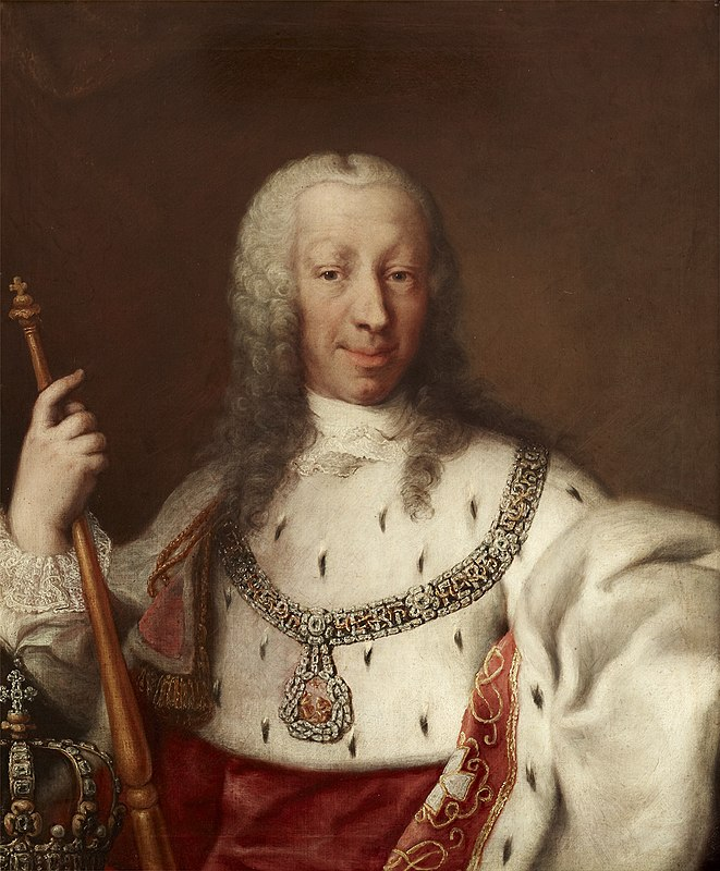 Clementi and Studio - Charles Emmanuel III of Sardinia in Royal Mantle