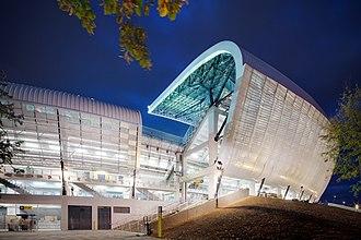 Cluj Arena - Image: Cluj Arena night