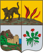 Coat of Arms of Derbent (Dagestan) (1843).png