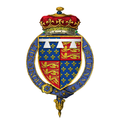 """Coat of Arms of Edward """"The Black Prince,"""" Prince of Wales, KG.png"""