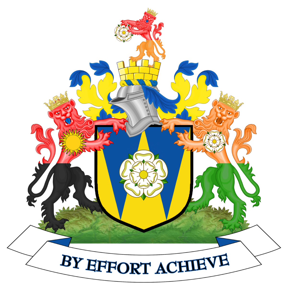 Coat Of Arms Of West Yorkshire Wikipedia