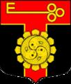 Coat of arms of Yam-Tyosovskoe (Leningrad oblast).png