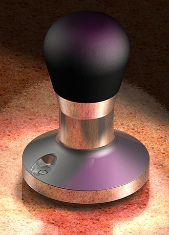 Tamp - A fancy coffee tamper