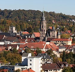 View over Coburg