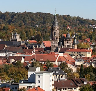 Coburg - View over Coburg