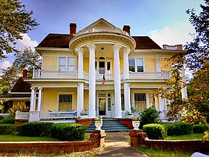 National Register of Historic Places listings in Calhoun County, South Carolina - Image: Col. J. A. Banks House front facade