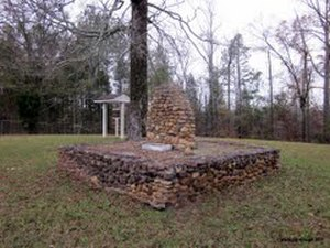 National Register of Historic Places listings in Crawford County, Georgia - Image: Col Benjamin Hawkins Gravesite Crawford County GA