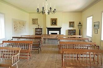 Colton Hall - Image: Colton Hall seating area