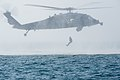 Commander, Task Group 56.1 explosive ordnance disposal technicians conduct Helicopter Cast and Recovery 141209-N-MF909-177.jpg