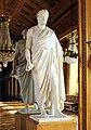 Compiègne, Château, ball room, statue Napoleon Bonaparte by Antoine-Denis Chaudet.JPG