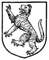 Fig. 325.—Bengal tiger rampant.