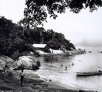 Niterói - Icaraí beach in 1895