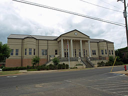 Administrationsbyggnaden i Conecuh County.