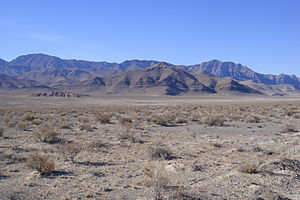 Confusion Range - The Confusion Range from Skull Rock Pass, looking west toward Kings Canyon (Utah)