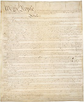 constitution for the united states of america vs constitution of the united states