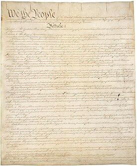 government origins united states constitution