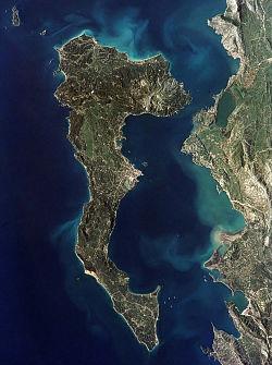 Estrechos De Corfu Wikipedia La Enciclopedia Libre - Estrechos