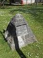Coronation Walk commemorative stone, Wrexham (1).JPG