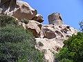 Corsica - Roccapina - Tour Genovese - on strange rocks - panoramio.jpg