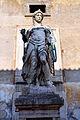 Cortile dell'angelo, statua di san michele di raffaello da montelupo, 03.JPG