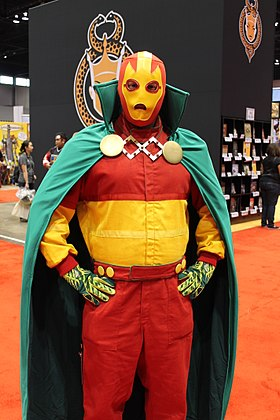 Cosplay de Mister Miracle