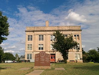 Cotton County, Oklahoma - Image: Cotton County Courthouse