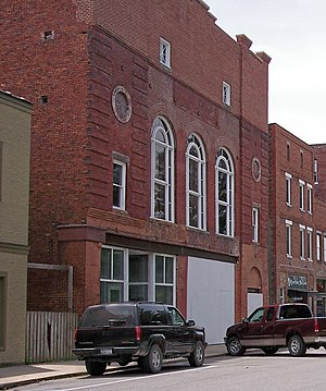 National Register of Historic Places listings in Tucker County, West Virginia - Image: Cottrill Opera House Jul 06